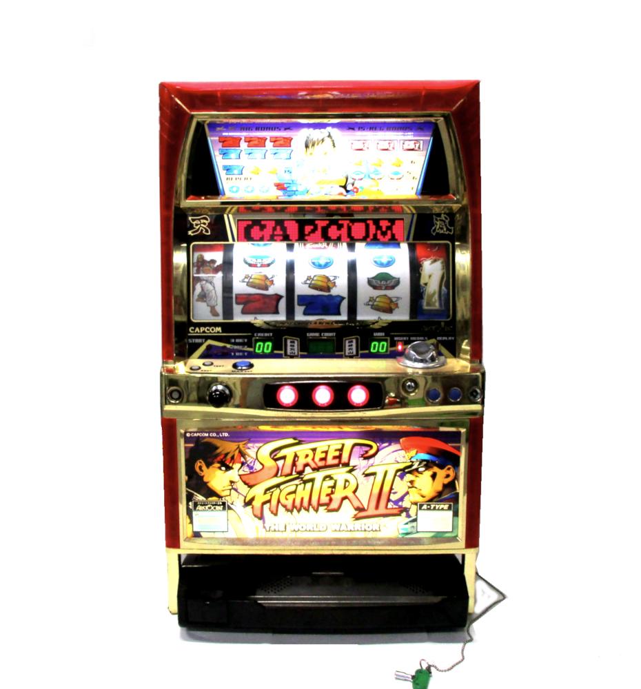 aristocrat street fighter 2 slot machine