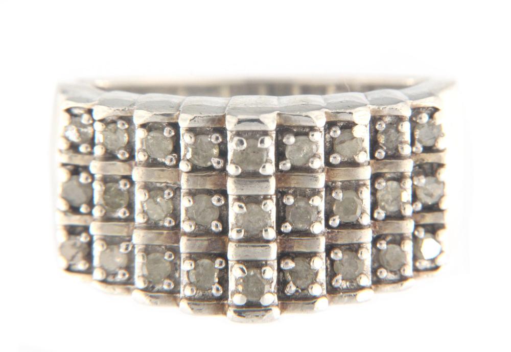 Jwbr Women/'s Cluster ring .925 Silver