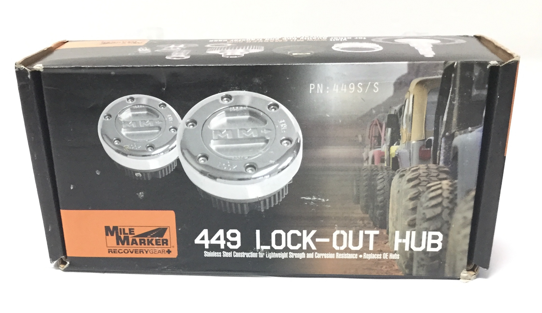 Mile Marker 449S//S Lock Out Hub