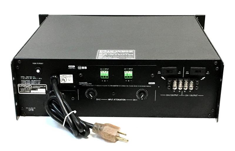 Crown Com-Tech 810 Power Amplifier